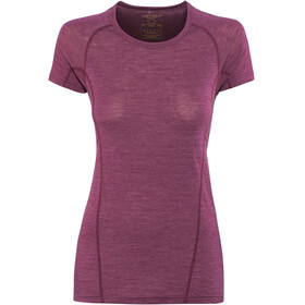 Devold Running - Camiseta manga corta Mujer - violeta